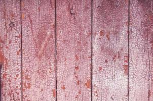 vecchio fondo di legno rosso naturale foto