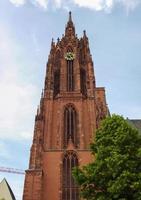 cattedrale di frankfurter dom a francoforte foto