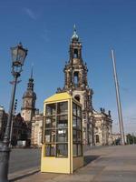 hofkirche a dresda foto