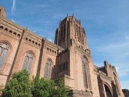 cattedrale di liverpool a liverpool foto