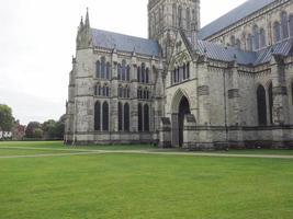 cattedrale di salisbury a salisbury foto