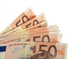 banconote in euro, unione europea foto