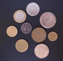 moneta del franco francese foto