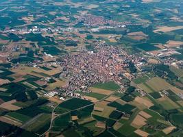 veduta aerea di vinovo foto