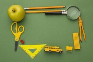 gli elementi della giornata dell'insegnante di arrangiamento foto