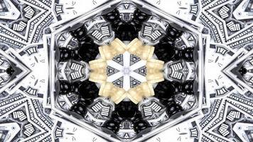caleidoscopio astratto dei soldi foto