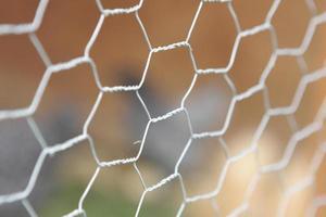recinzione di filo di pollo foto