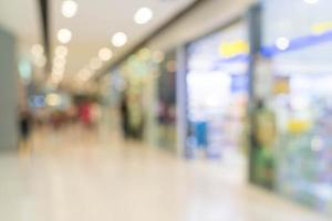 sfocatura astratta bellissimo centro commerciale di lusso foto