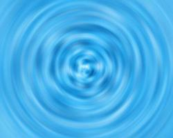 sfondo astratto di colore blu. vista dall'alto di una goccia d'acqua. foto