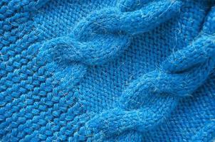 sfondo a maglia. trama a maglia. modello a maglia di lana. foto