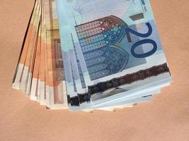 banconote da cinquanta e venti euro foto