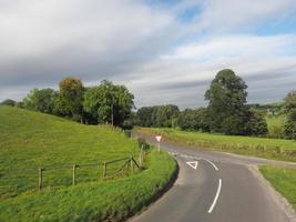 panorama del paese inglese a salisbury foto