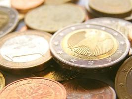 monete in euro, unione europea foto