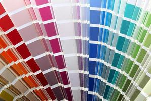 tabella della cartella colori foto