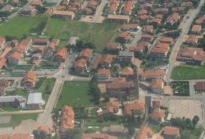 veduta aerea di san francesco al campo foto