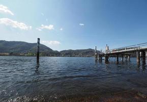 vista lago di como foto