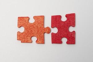 puzzle di collegamento foto