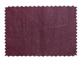 campione di tessuto isolato foto