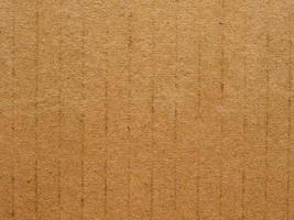 sfondo di cartone ondulato marrone foto