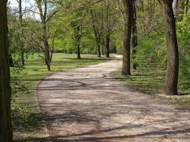 parco tiergarten, berlino foto