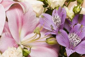 l'arrangiamento bellissimo sfondo di fiori foto