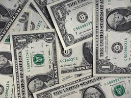 banconote in dollari, stati uniti foto