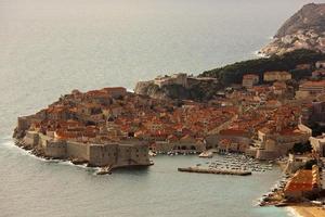 città vecchia dubrovnik, croazia foto