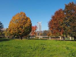 giardino corpo italiano di liberazione park in torin, italy foto