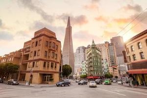 paesaggio urbano di San Francisco foto