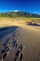 parco nazionale delle grandi dune di sabbia in colorado foto