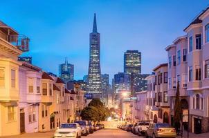 San Francisco di notte. foto