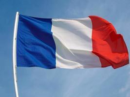 bandiera francese della francia foto