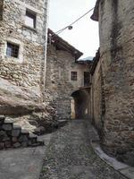 vista del centro storico di settimo vittone foto