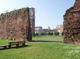 antiche rovine romane, torino foto