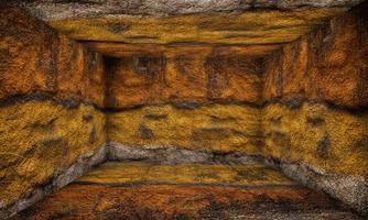 stanza di pietra palcoscenico interno urbano foto