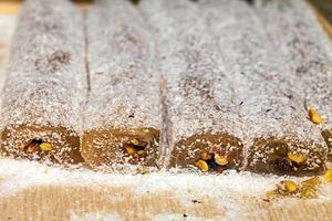 deliziosa e dolce delizia turca foto