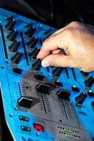 mixer per dj mixer musicale foto