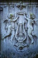 angelo scultura cristianesimo religione simbolo foto