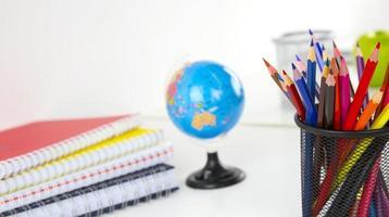 strumenti di attrezzature per l'istruzione scolastica foto