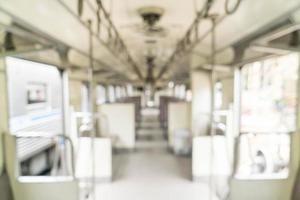 treno sfocato astratto per lo sfondo foto