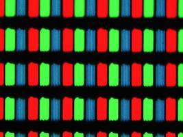 micrografia con schermo lcd foto