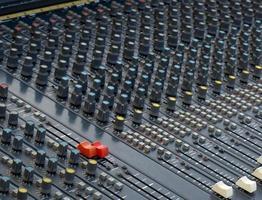 mixer per tavola armonica analogico foto