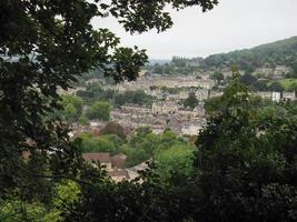 vista della città di Bath foto