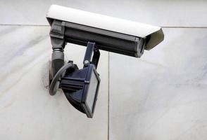 telecamera di sorveglianza tv a circuito chiuso cctv foto