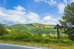 paesaggio in croazia, europa foto