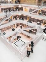 Biblioteca pubblica di Stoccarda, Germania, Europa foto