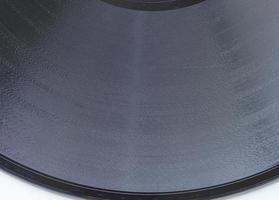 dettaglio del disco in vinile foto