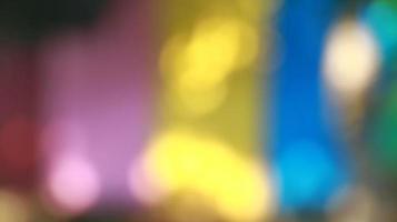 sfondo di luci sfocate, trame astratte, motivo colorato foto