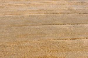 trama di sabbia bagnata sulla spiaggia foto