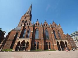 chiesa di san petri ad amburgo foto